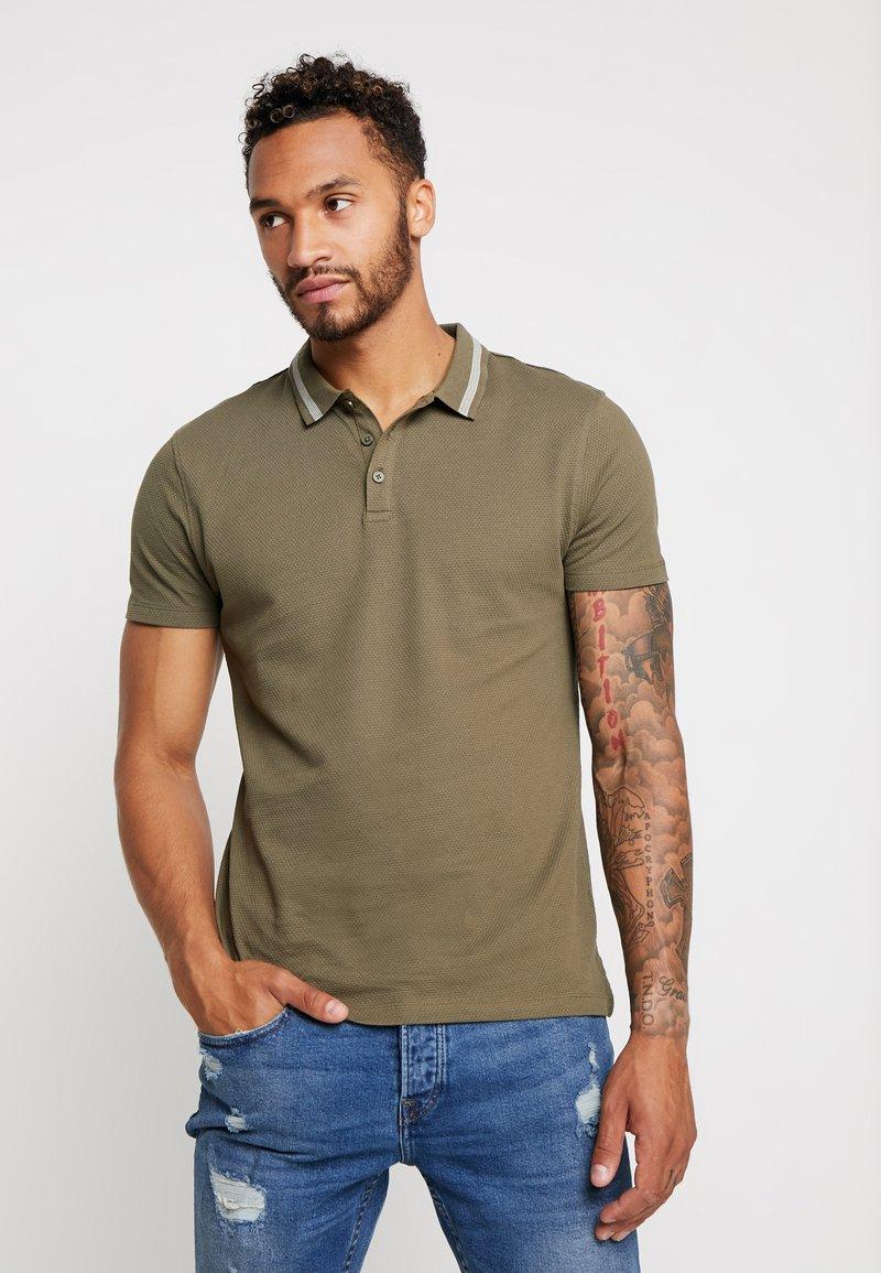 New Look - PETE - Polo shirt - dark khaki