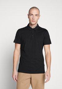 New Look - TAPE POLO  - Koszulka polo - black - 0