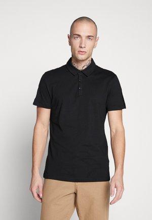 TAPE POLO  - Koszulka polo - black