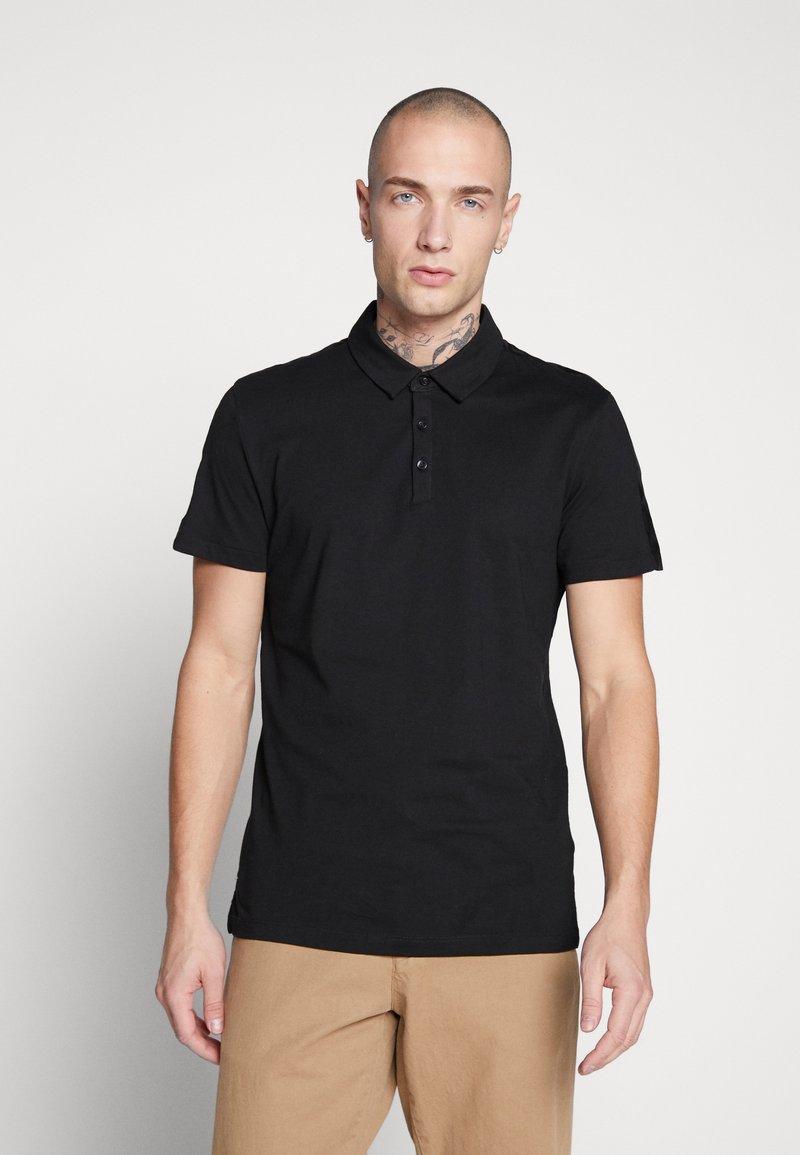 New Look - TAPE POLO  - Koszulka polo - black