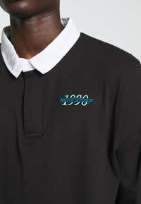 New Look - RUGBY - Polo - black - 5