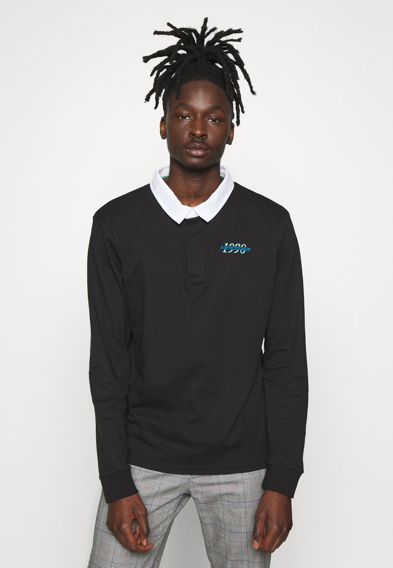 New Look - RUGBY - Polo - black
