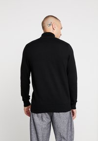 New Look - TEXTURED ROLL NECKS - Svetr - black - 2
