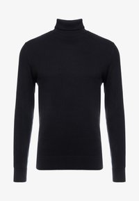New Look - TEXTURED ROLL NECKS - Svetr - black - 3