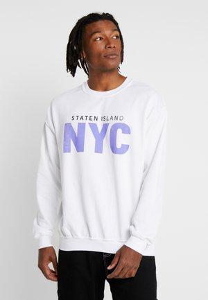 STATEN ISLAND CREW - Collegepaita - white
