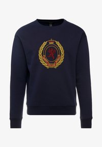 New Look - CREST CREW - Sweatshirt - navy - 3