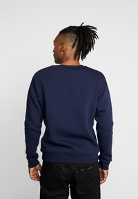 New Look - CREST CREW - Sweatshirt - navy - 2