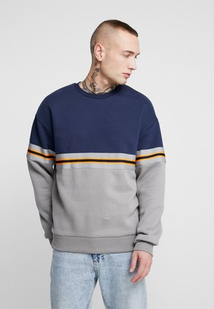 TANGY TAPE CREW - Sweatshirt - navy