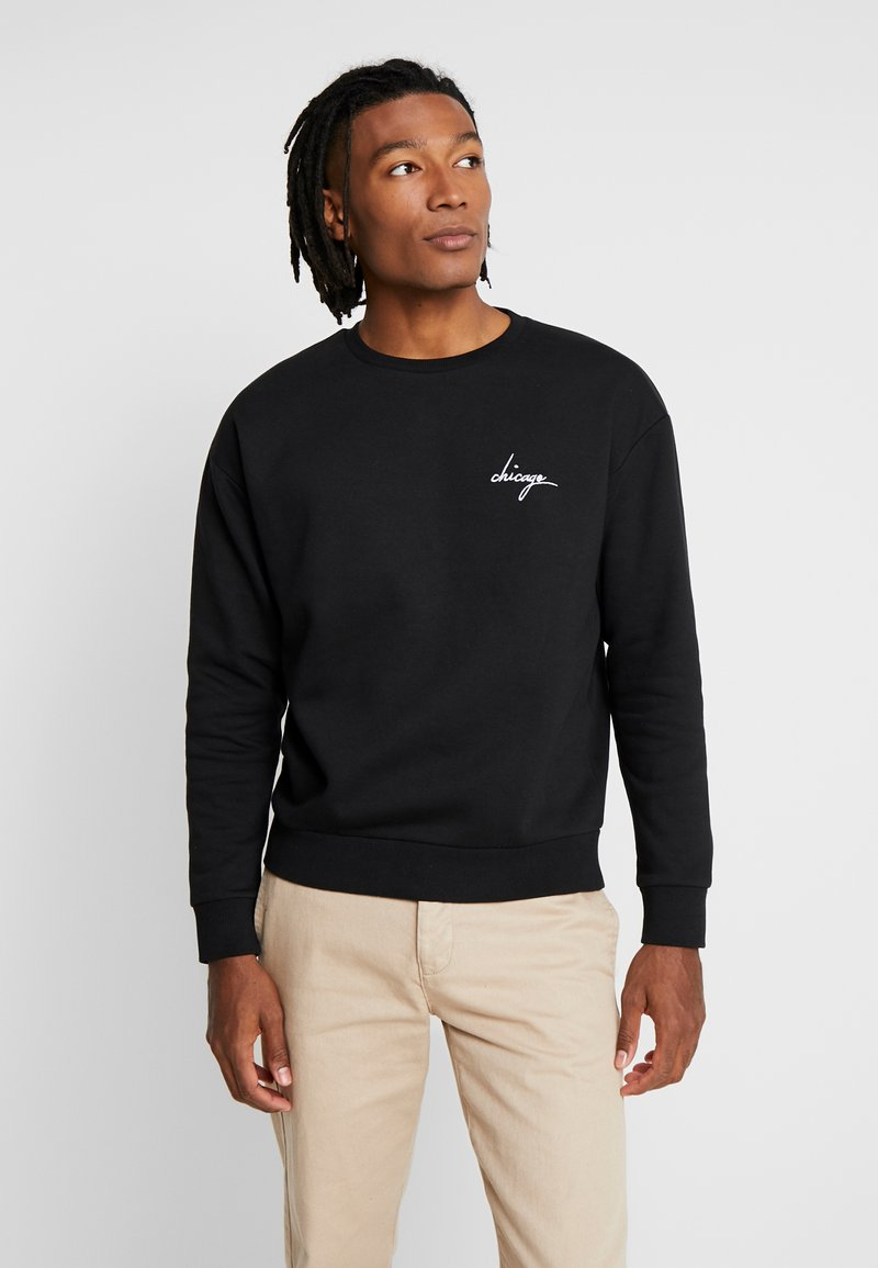 New Look - CHICAGO CREW - Sweatshirt - black