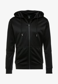 New Look - REFLECTIVE SIDE ZIP THRU - Mikina na zip - black - 5