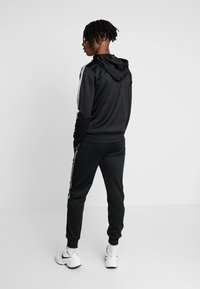 New Look - REFLECTIVE SIDE ZIP THRU - Mikina na zip - black - 2
