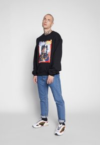 New Look - BOYS HOOD  - Sweatshirt - black - 1