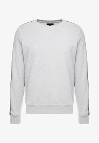 New Look - TAPED CREW - Sweater - grey marl - 4