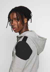 New Look - COLOURBLOCK GREY MARL ZIP - veste en sweat zippée - light grey - 5
