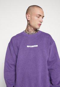New Look - OPTIMISM OD SWT - Sudadera - purple niu - 4