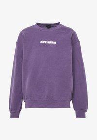 New Look - OPTIMISM OD SWT - Sudadera - purple niu - 3