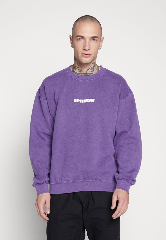 OPTIMISM OD SWT - Sweater - purple niu