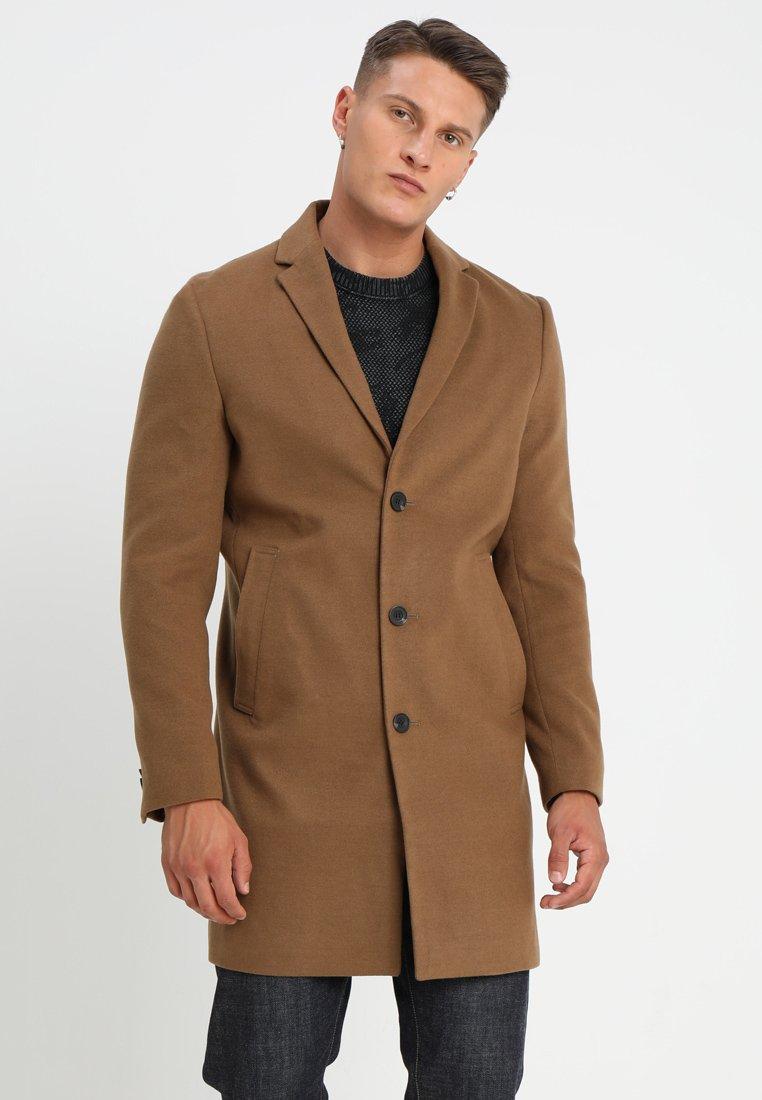New Look - SMART OVERCOAT - Classic coat - camel