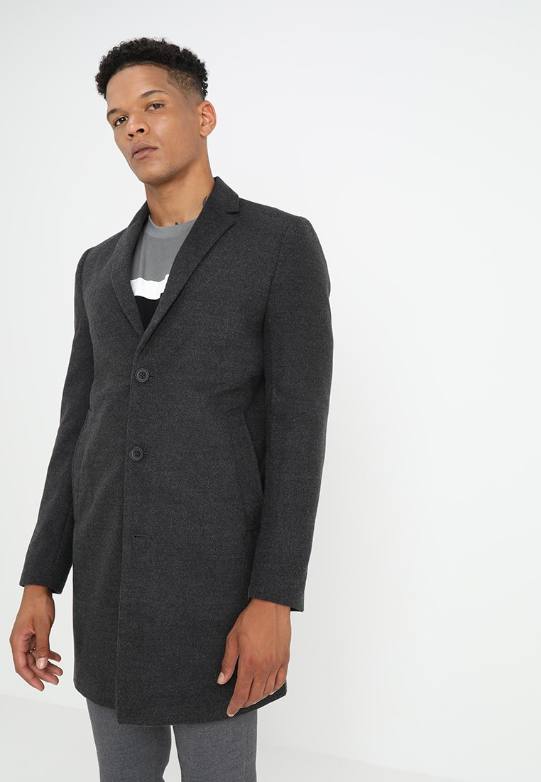 New Look - SMART OVERCOAT - Wollmantel/klassischer Mantel - charcoal