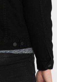 New Look - TRANS BASIC  - Denim jacket - black - 6