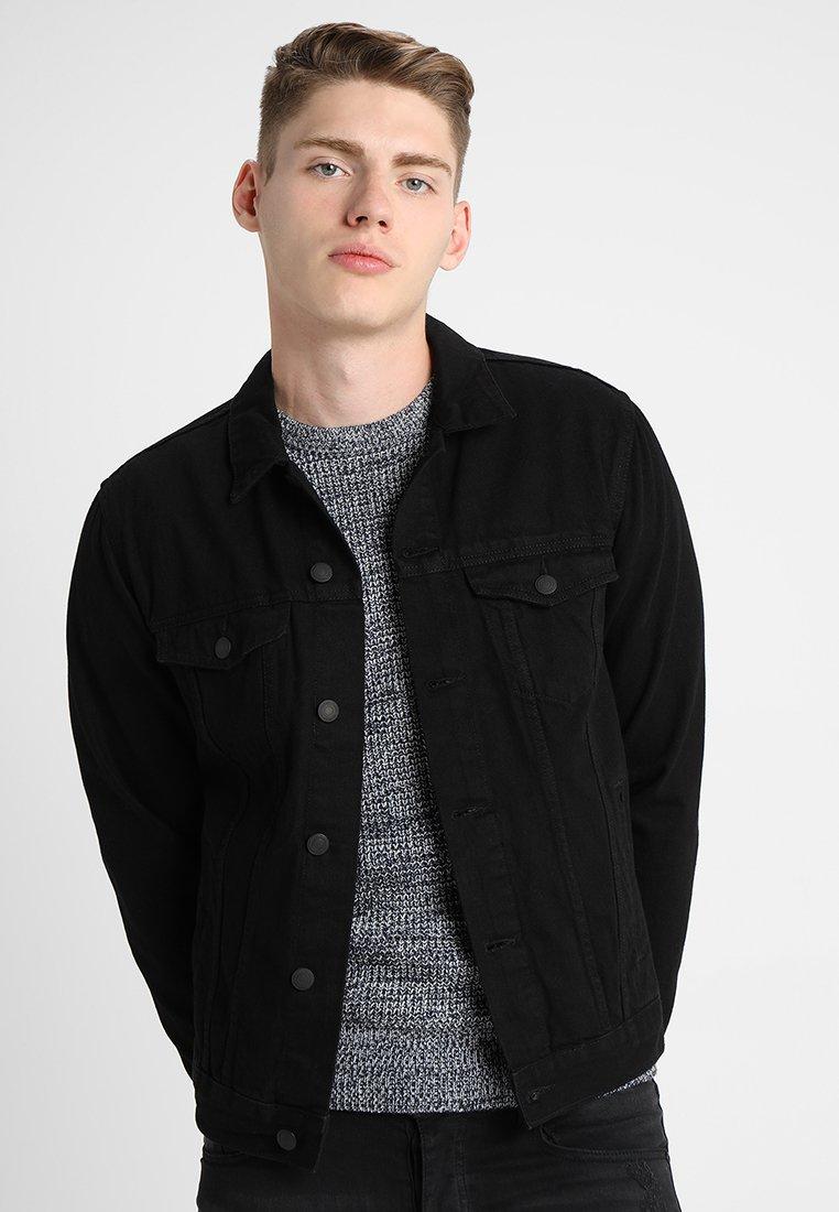 New Look - TRANS BASIC  - Denim jacket - black