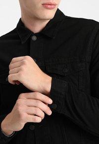 New Look - TRANS BASIC  - Denim jacket - black - 4