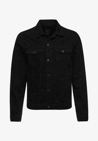 New Look - TRANS BASIC  - Denim jacket - black - 5