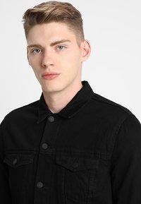 New Look - TRANS BASIC  - Denim jacket - black - 3