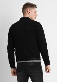 New Look - TRANS BASIC  - Denim jacket - black - 2