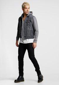 New Look - Kurtka jeansowa - grey - 1