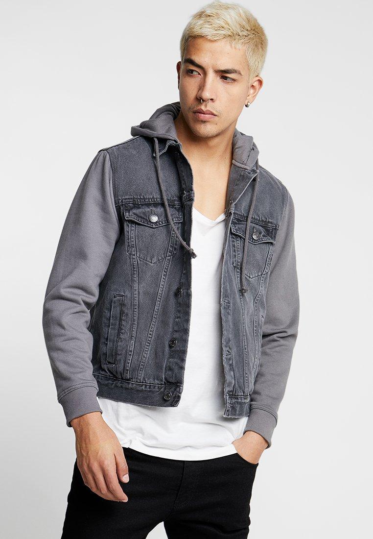 New Look - Kurtka jeansowa - grey