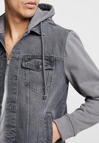 New Look - Kurtka jeansowa - grey - 4