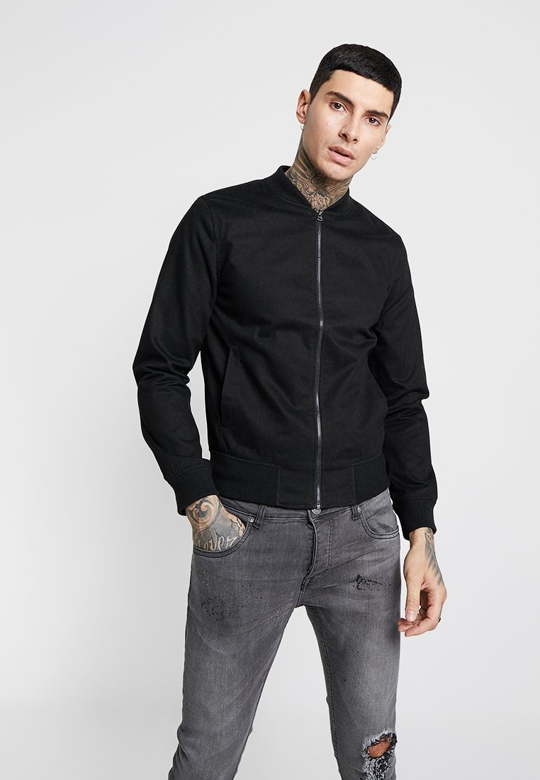 New Look - Bomber Jacket - black