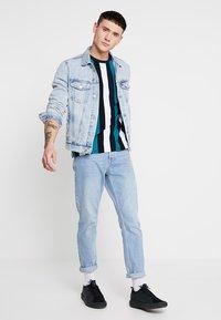 New Look - BLEACH WESTERN - Denim jacket - blue - 1