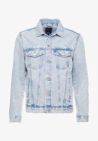 New Look - BLEACH WESTERN - Denim jacket - blue - 3