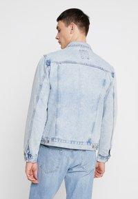 New Look - BLEACH WESTERN - Denim jacket - blue - 2