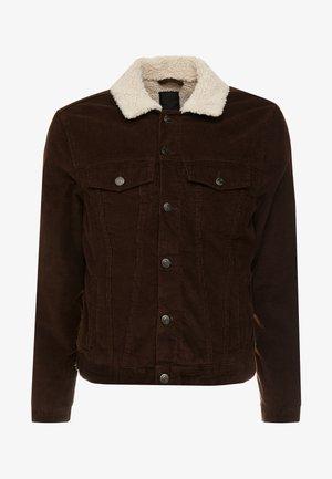 BORG WESTERN - Light jacket - chocolate