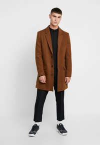 New Look - OVERCOAT  - Halflange jas - camel - 1