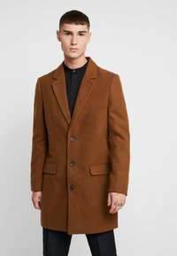 New Look - OVERCOAT  - Halflange jas - camel - 0
