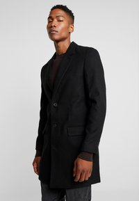 New Look - OVERCOAT  - Kort kåpe / frakk - black - 0