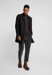 New Look - OVERCOAT  - Kort kåpe / frakk - black