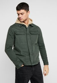 New Look - UTILITY SHACKET - Cowboyjakker - dark khaki - 0