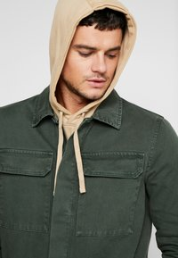 New Look - UTILITY SHACKET - Jeansjacka - dark khaki - 3