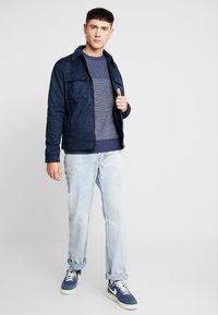 New Look - SHACKET - Giacca in similpelle - navy - 1