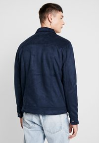 New Look - SHACKET - Giacca in similpelle - navy - 2