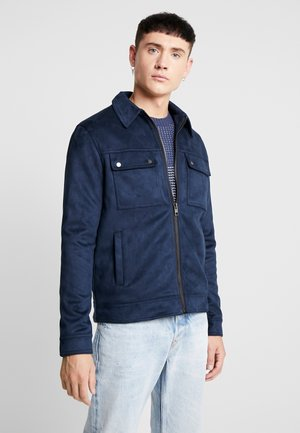 SHACKET - Kunstlederjacke - navy