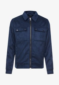 New Look - SHACKET - Giacca in similpelle - navy - 4