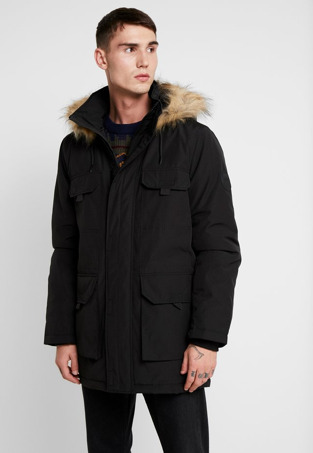 DOWNTIME  - Parka - black