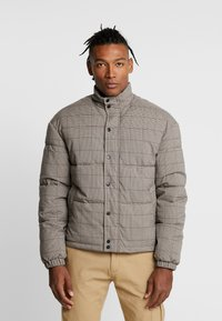 New Look - CHECK PUFFER - Winter jacket - beige - 0