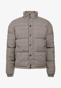 New Look - CHECK PUFFER - Winter jacket - beige - 4